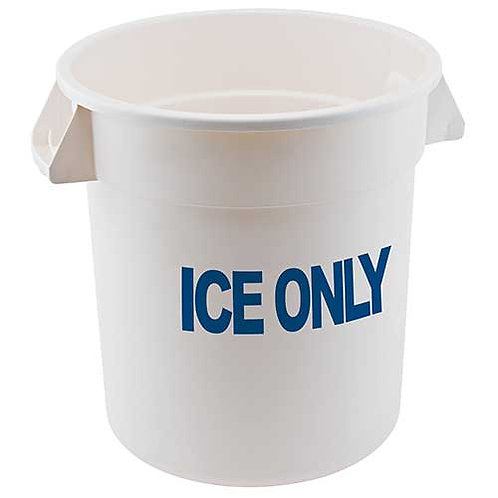 """""""Ice Only"""" Storage Container, 10 Gallon"""