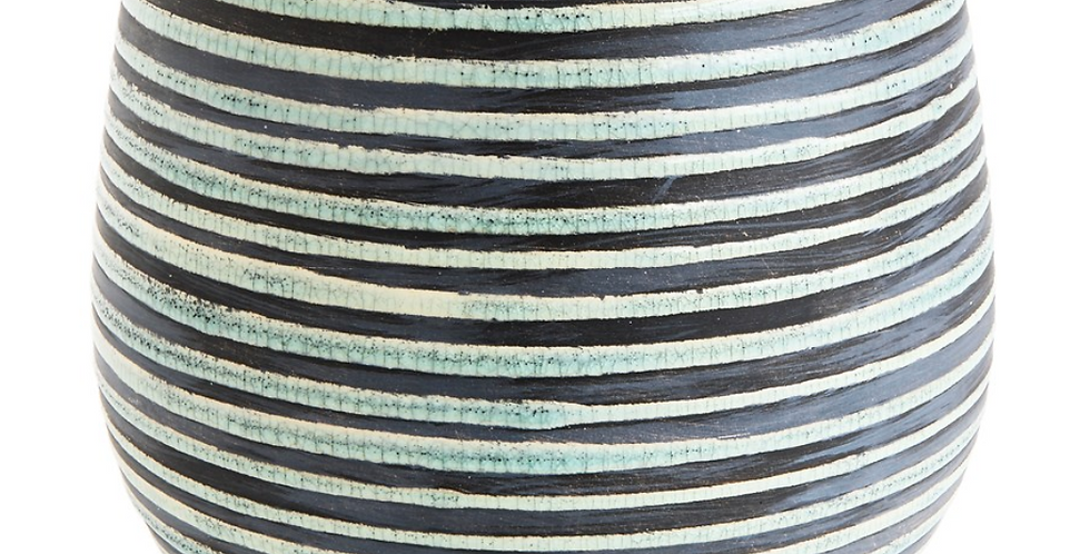 Striped Aqua Planter