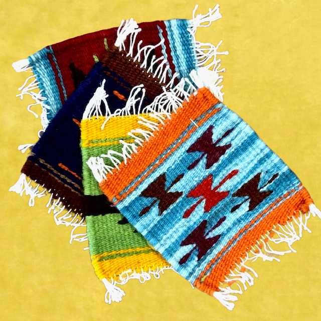 Hand Dyed & Woven Fair Trade Textile