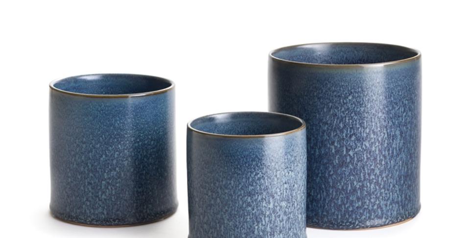 Blue Aura Pot (3 sizes)