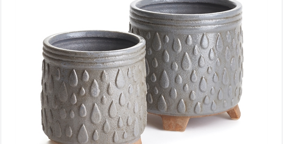 Grey Porter Pot (2 sizes)