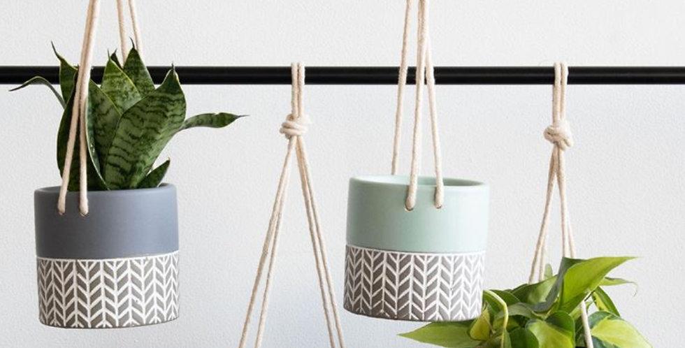 Hanging Lennox Planter (4 colors)