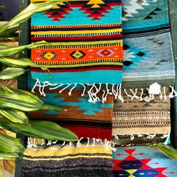 Hand Dyed & Woven Fair Trade Textile