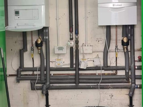 CLUBHOUSE GETS NEW BOILERS