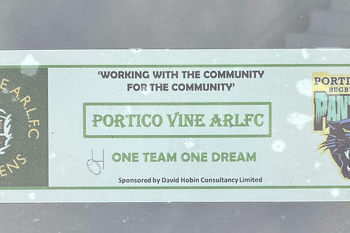 Portico Vine Car Sticker