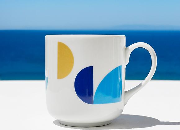 Pieces of Greece Coffee Ceramic Mug