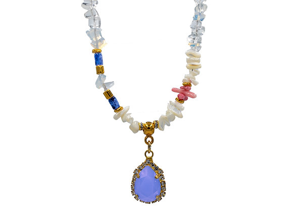 Lillac Dream, Swarovski Diamonds Necklace