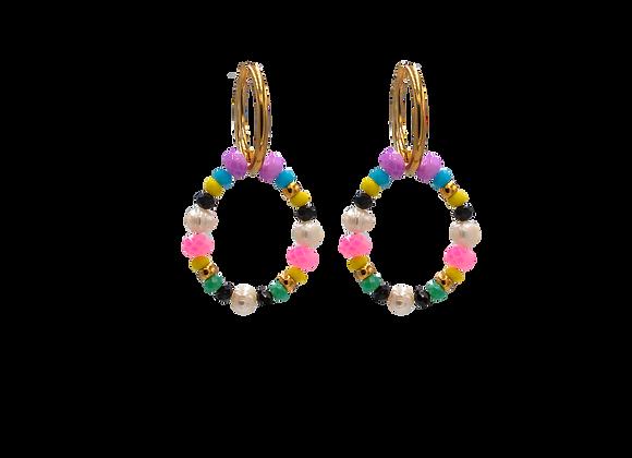Boho Style, Colourful, Earrings