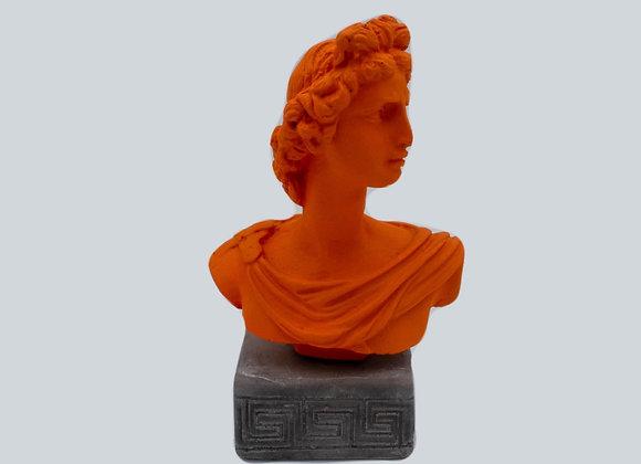 God Apollo Coloured Figurine