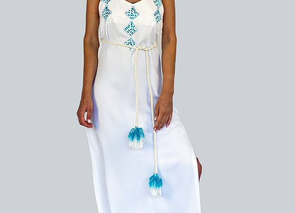 Amphitrite Maxi Dress in White