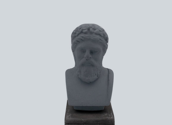 Zeus Coloured Figurine