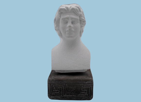 Alexander the Great Coloured Figurine