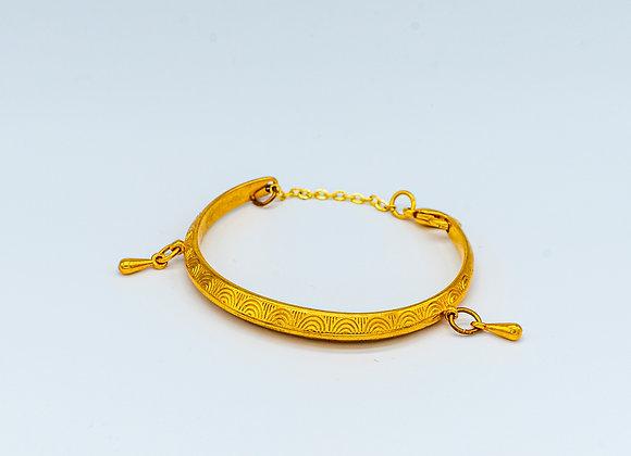 Simply Gold, Bangle, Bracelet