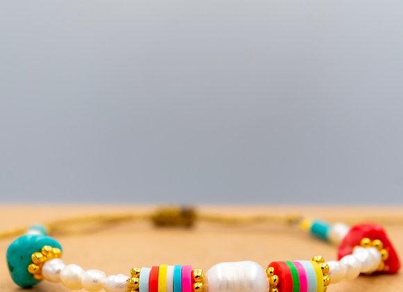 Boho Style, Colourful, Summer Bracelet