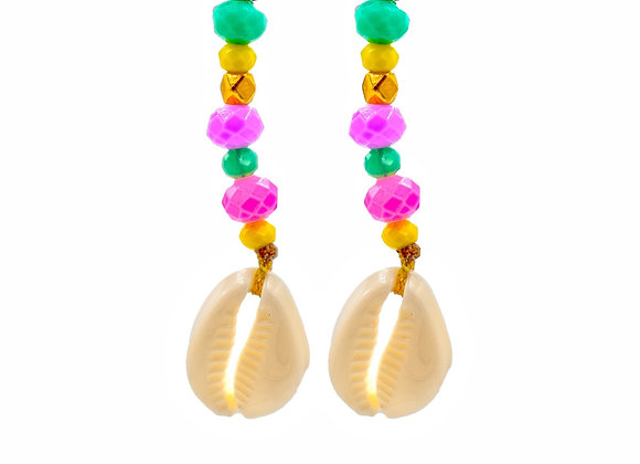 Boho Style, Sea Shell, Earrings