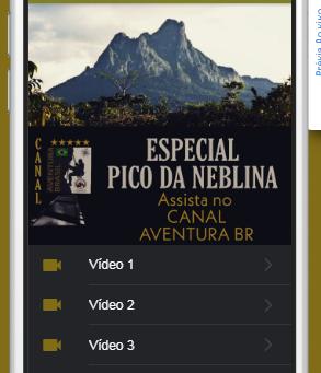 Especial PICO DA NEBLINA
