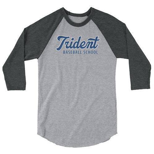 TBS 3/4 sleeve raglan shirt