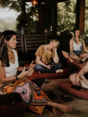 Soul Talks allow for authentic communication, clearing, throat chakra attunement, soul-nourishment, integration, loving connection, and healing.