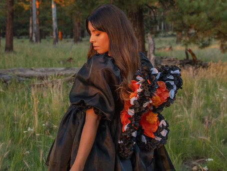 Floral Monarch Butterly Wings DIY Tutorial