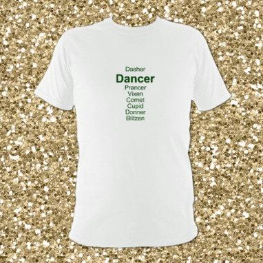 Dancer Reindeer T-shirt