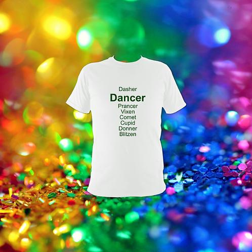 Dancer Reindeer T-shirt Childrens