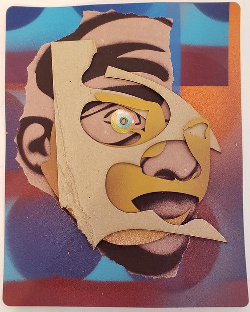 (SOLD) No. 23 by Anwar Floyd-Pruitt