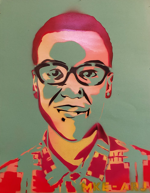 """Elijah McClain"" by Milwaukee Artists for Racial Justice"