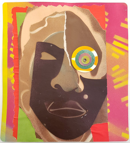 (SOLD) No. 31 by Anwar Floyd-Pruitt
