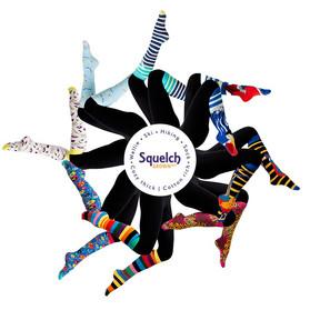 Squelch Adult Wellie Ski Hiking Socks