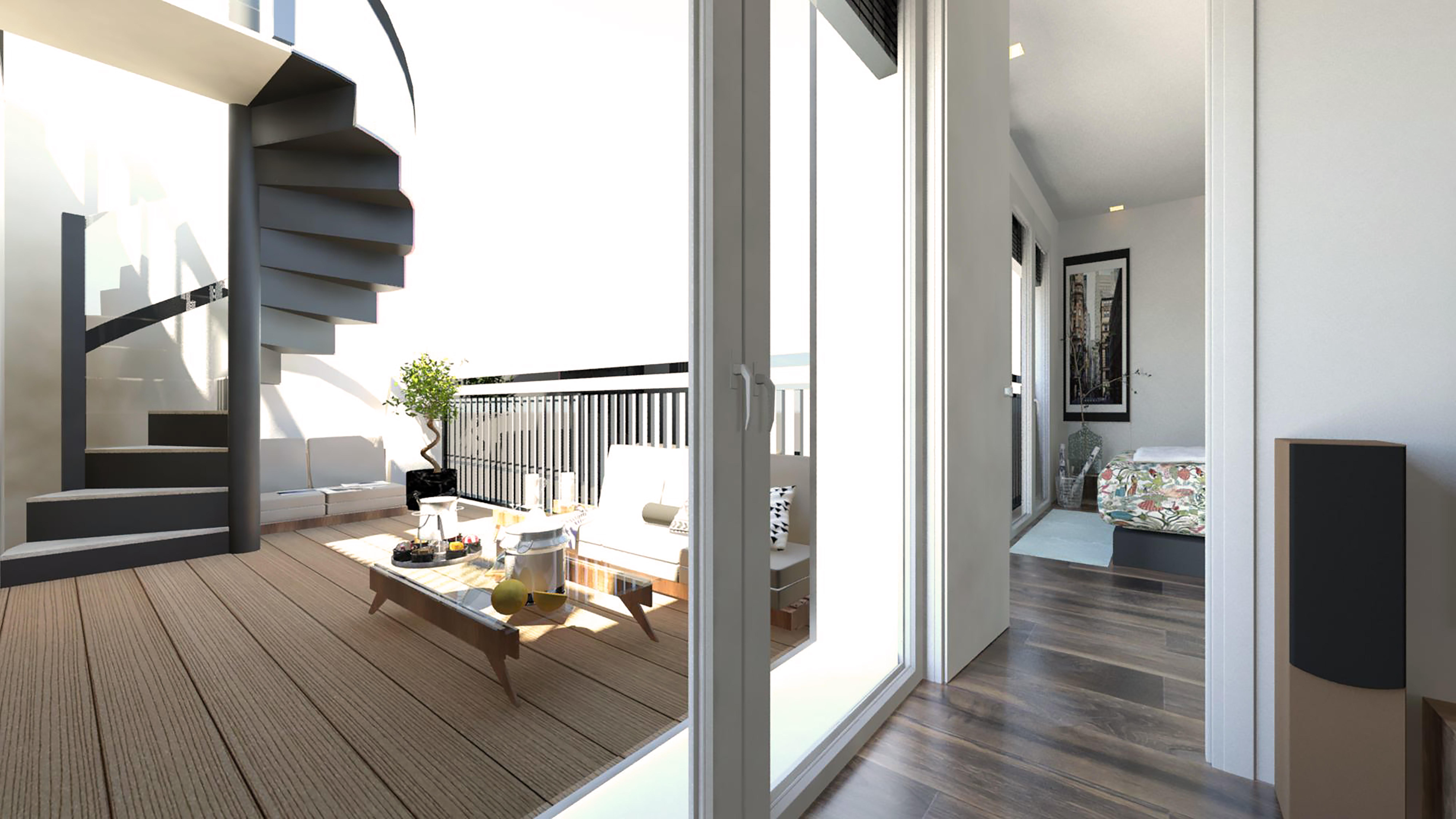 3d Atico Interior Luxury Home Portafolio Ximena