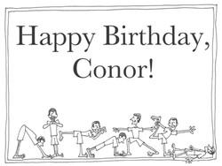 Conor's Birthday
