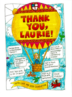 Thank You, Laurie