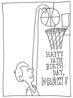 Happy Birthday, Drew