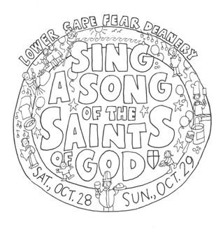 Saints T-Shirt Design