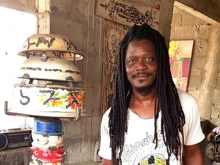 Saliou Gnambodé: l'art du recyclage