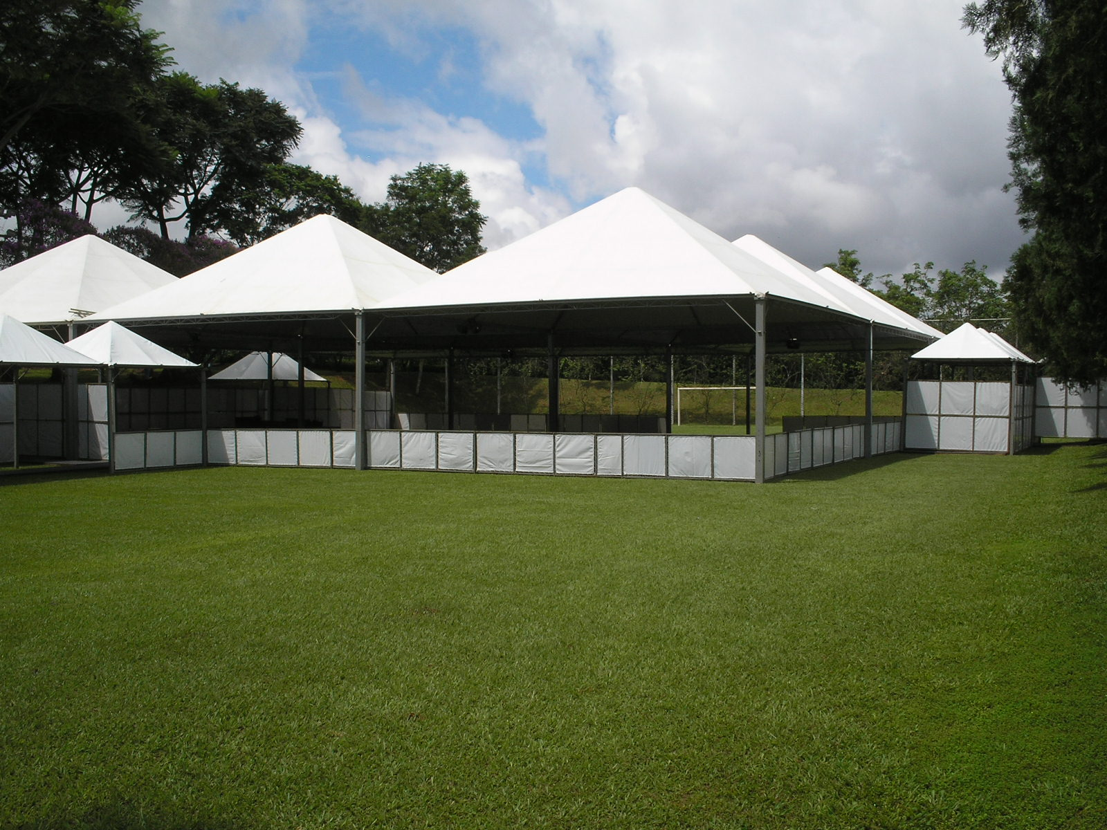 Estrutura de tendas