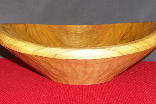 Hand Carved Bowl in Cherry