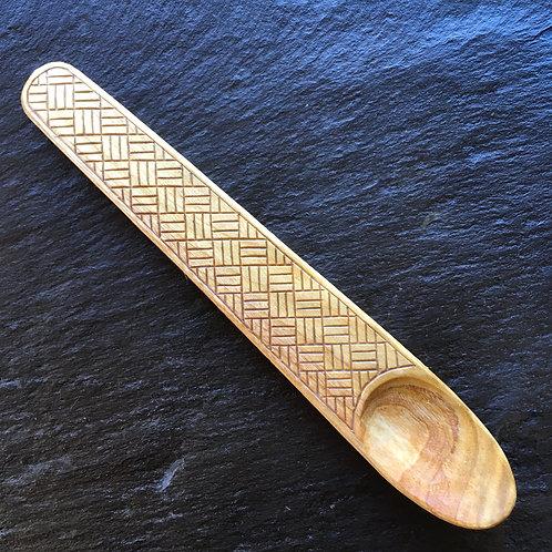 Engraved Cherry Spoon [3]