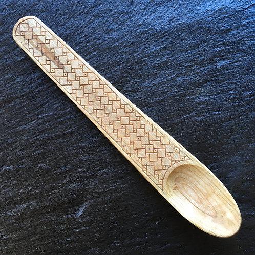 Engraved Cherry Spoon [2]