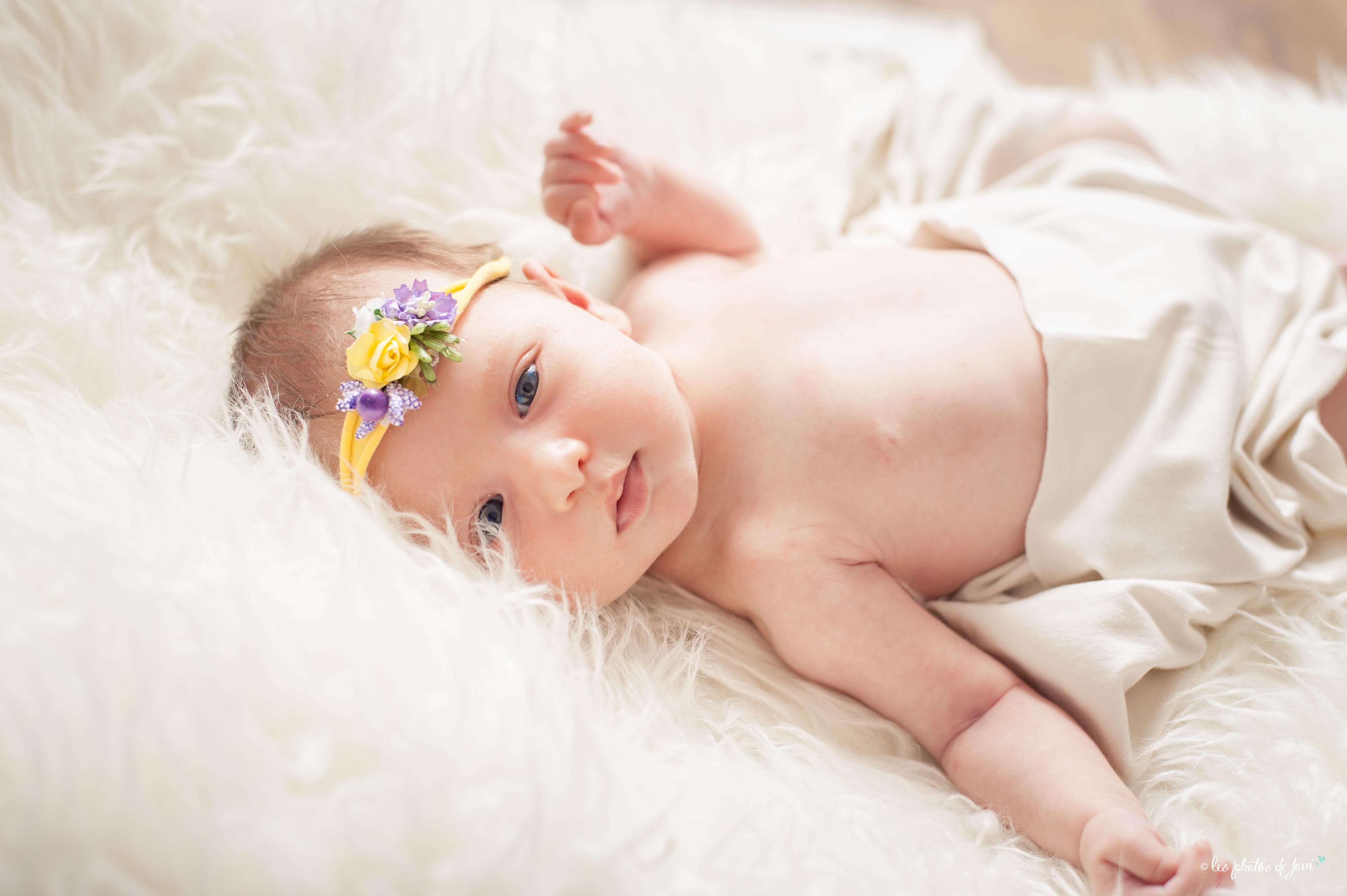 Photographe nouveau né à domicile