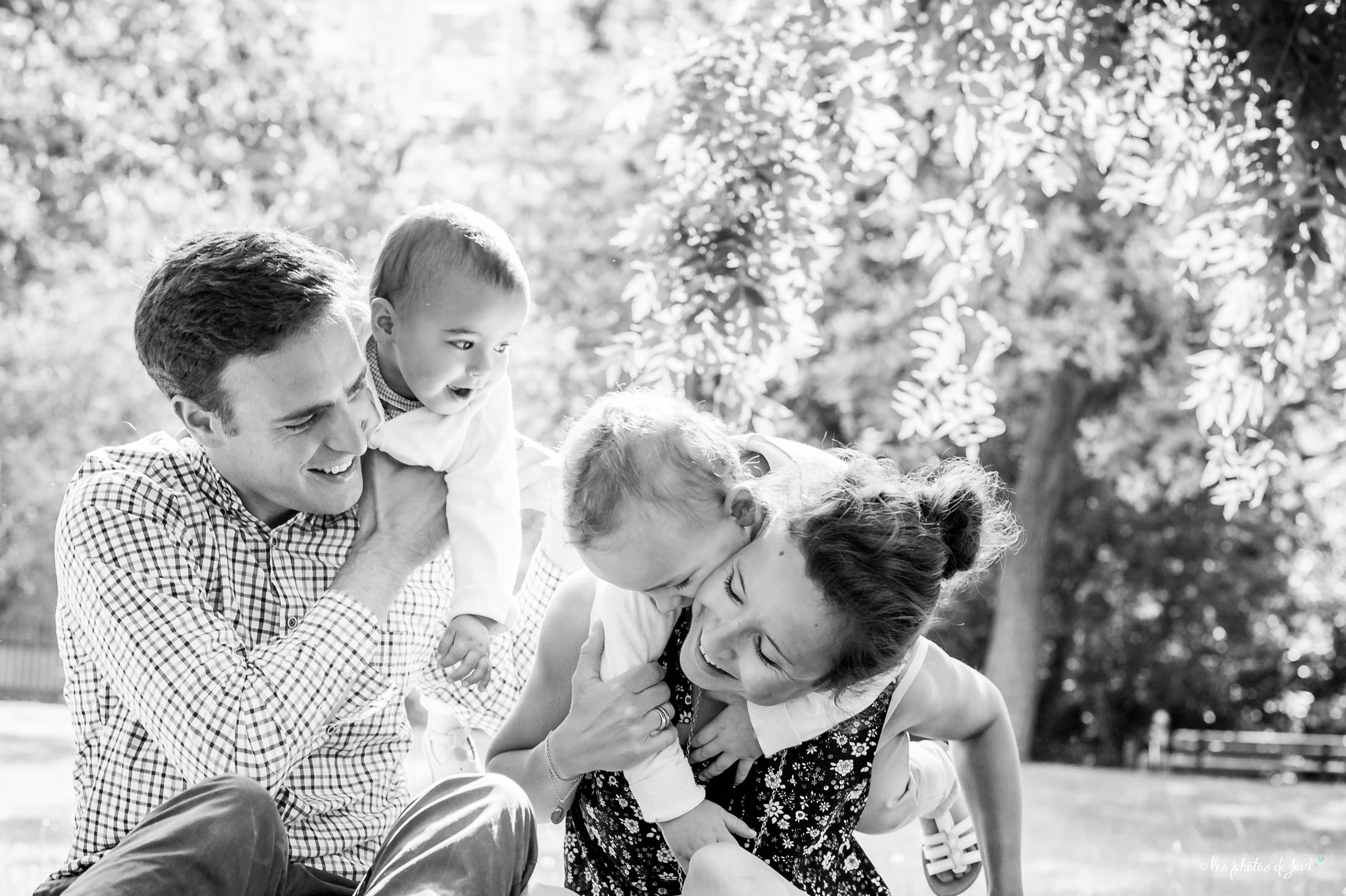 Photos de famille naturelles Fratrie
