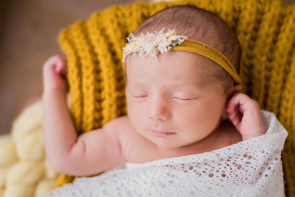 Séance photo de nouveau né
