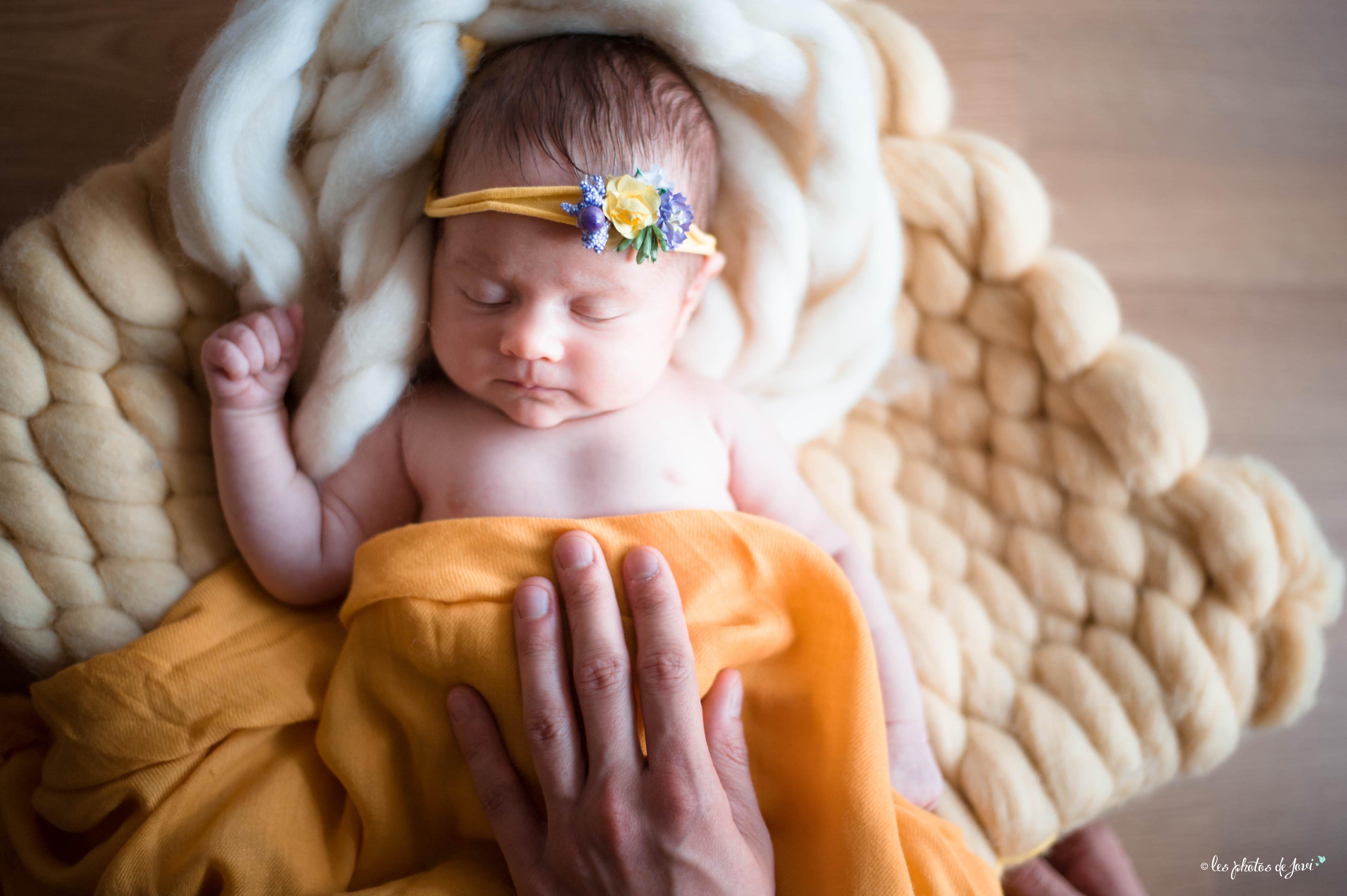 photo bébé faire part de naissance