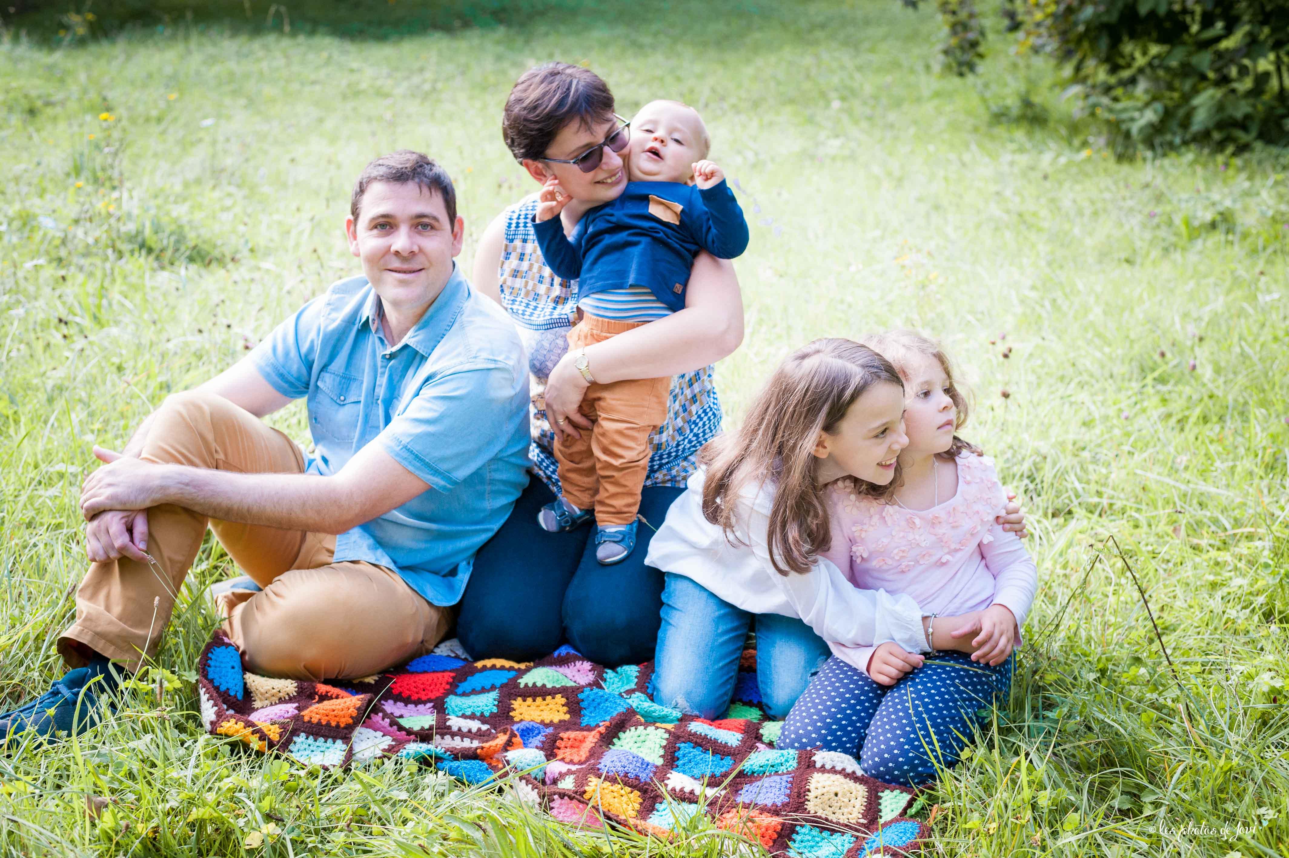 Séance photo en famille Ile Verte
