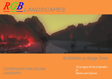 RGB LANDSPACES - GEORGE TURNER (LIGHTBOX