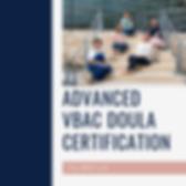 VBAC Doula Certification