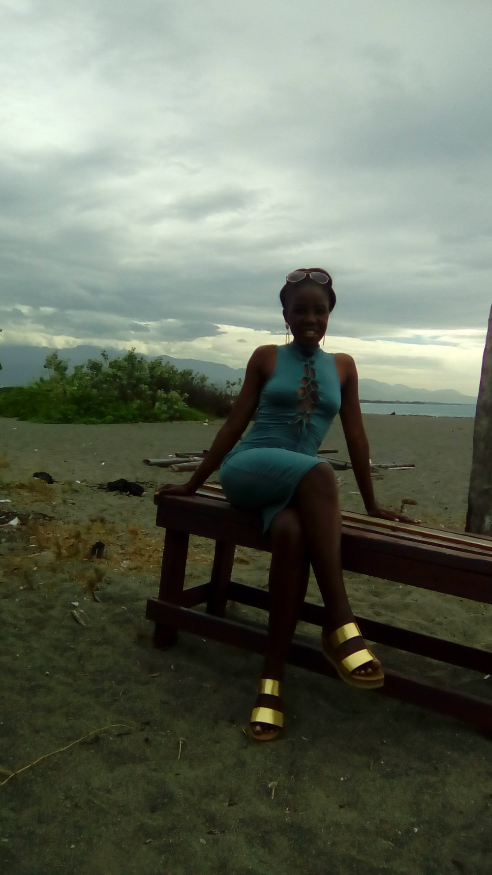 Aqua Beach Dress