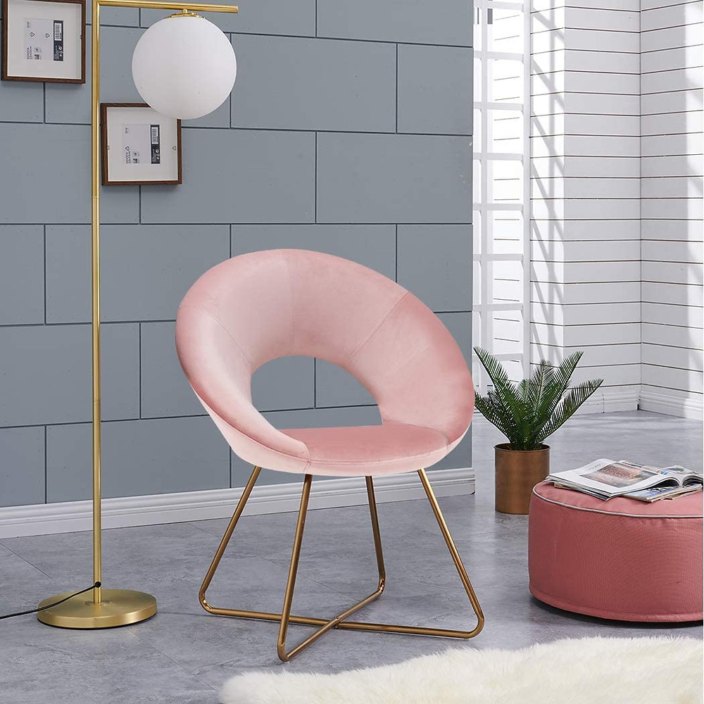 Pink Vanity or Office Chair