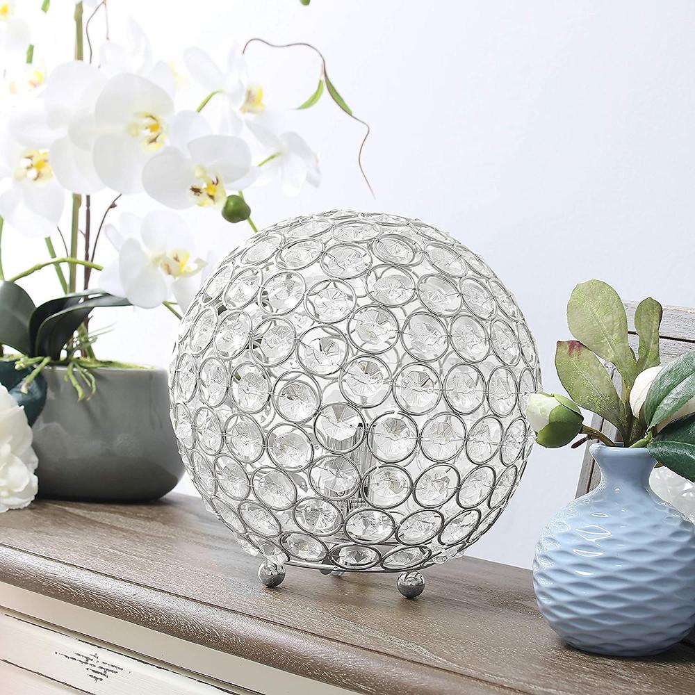 Crystal Bedside Lamps