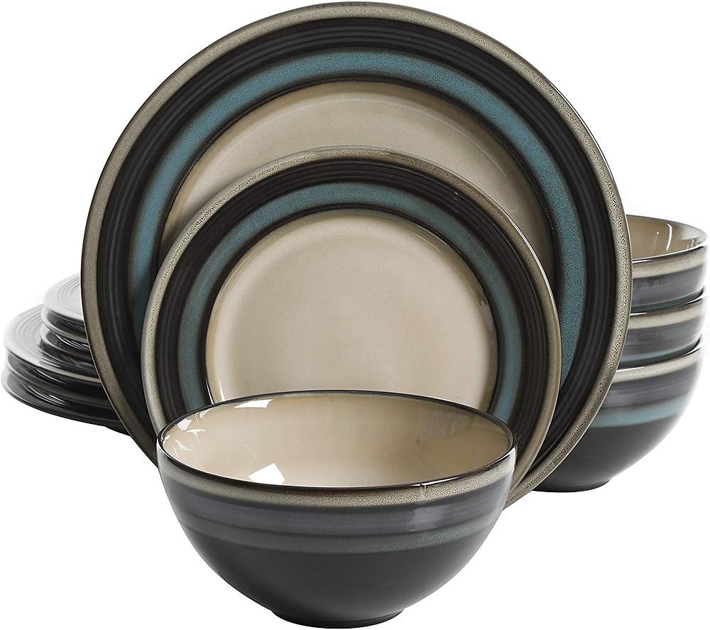 Teal Plate Set